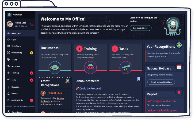 MyLenio Streamline your HR Operations